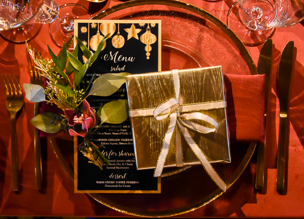 Holiday Party Place Setting