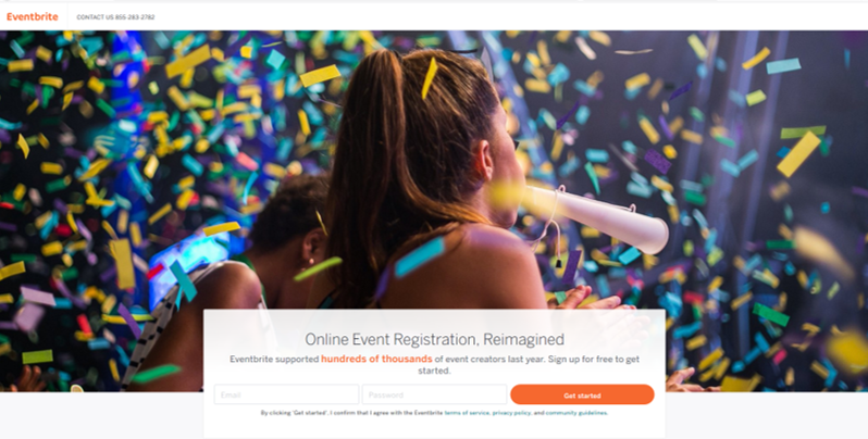 Use eventbrite to plan a family reunion