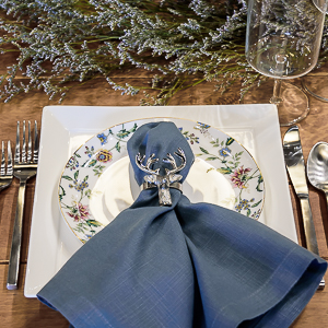 place setting tara pattern