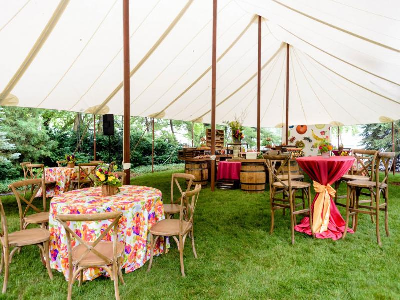 Sailcloth Tent Rental