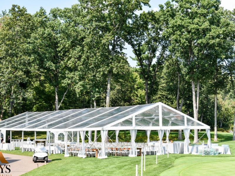 Clear top structure tent