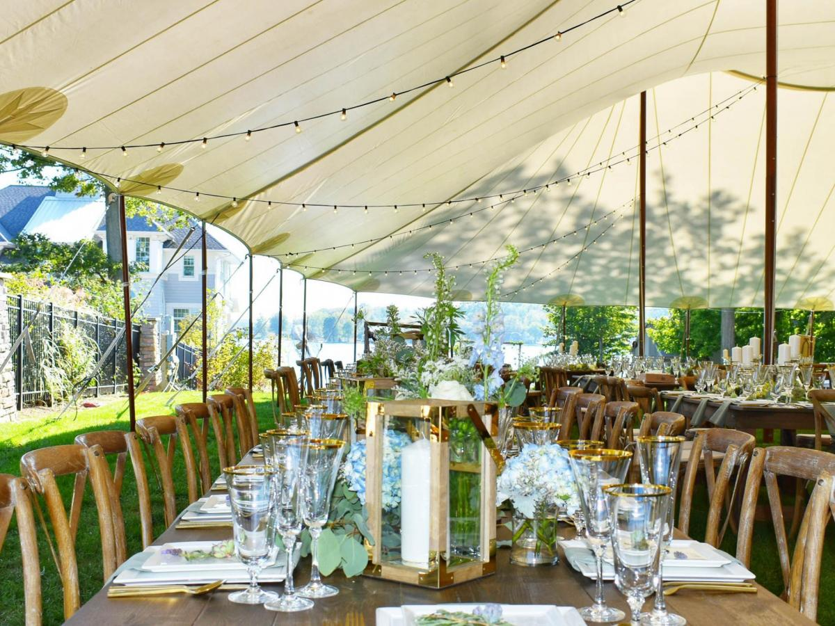 Lakeside Wedding Aays Event Rentals