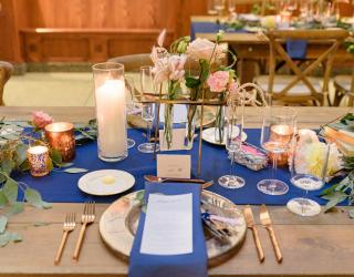 Rose Gold Flatware Rentals
