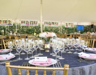 Table and chairs rentals