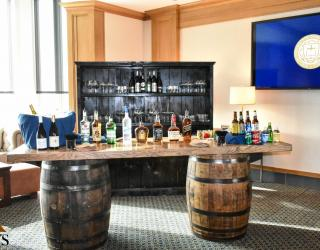 Whiskey Barrel Bar Rental