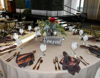 Copper Flatware Rental