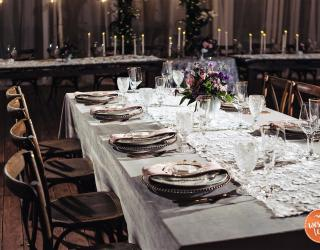 Velvet and Lace Table Linens