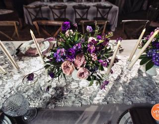 Velvet and Lace Linens