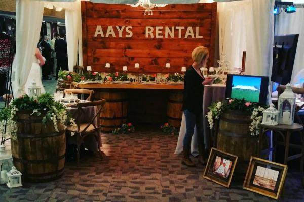 AAYS Booth at Bridal Expo