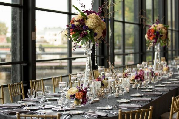 Industrial Glam Wedding at The Century Center