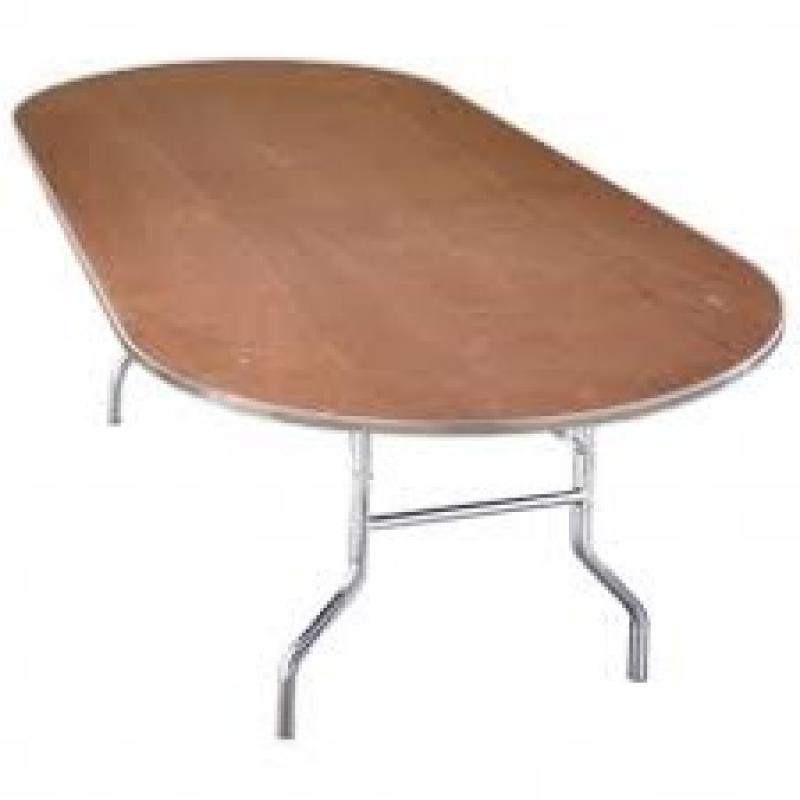 8 Foot Oval Table