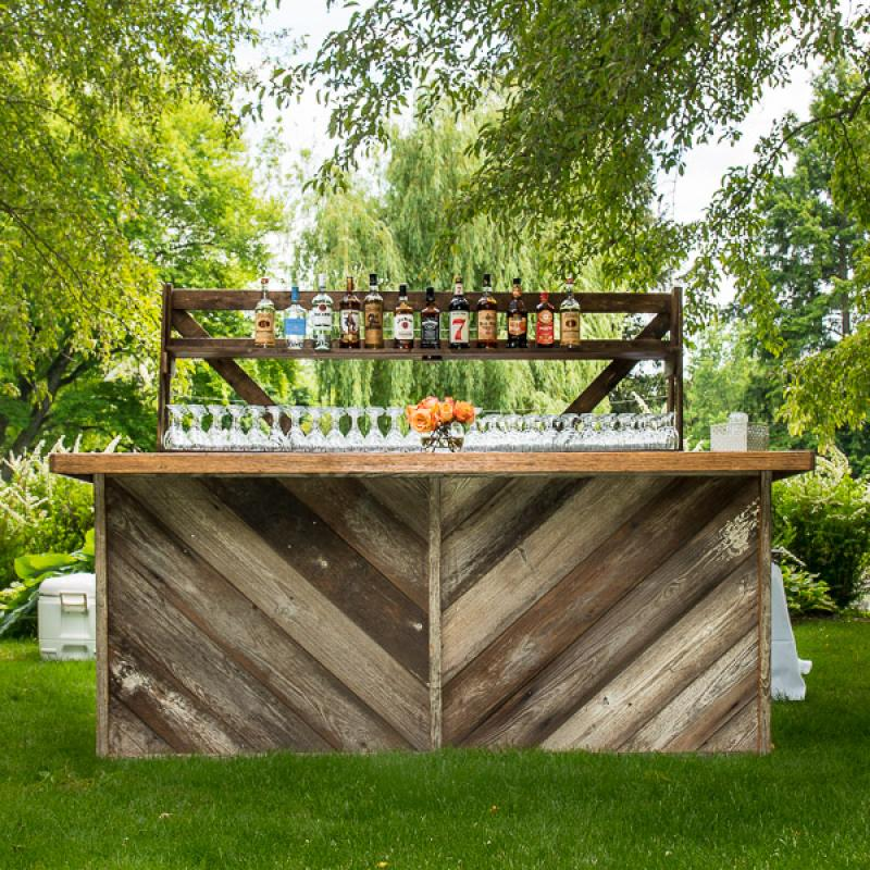 Barn Siding Bar
