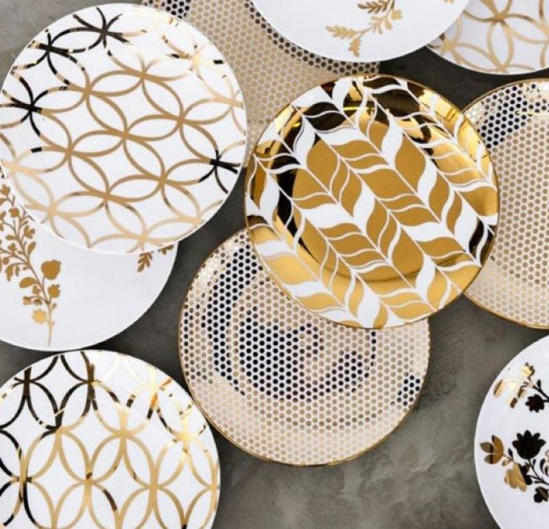 Gold Accent Plates