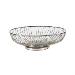 Wire silver Bread Baskets