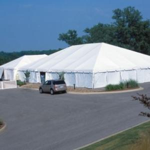 tent with Solid Sidewalls