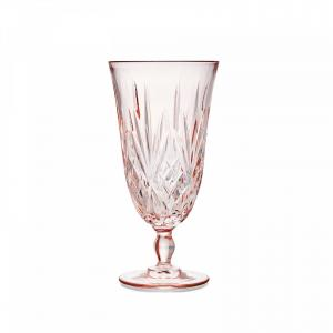 Blush Water Glass