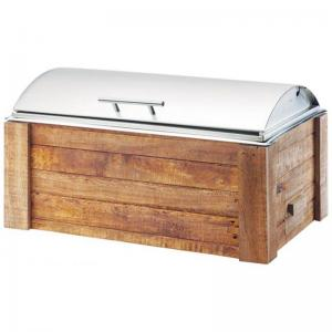 Reclaimed Wood Chafer 8 qt