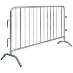 galvanized steel event fence