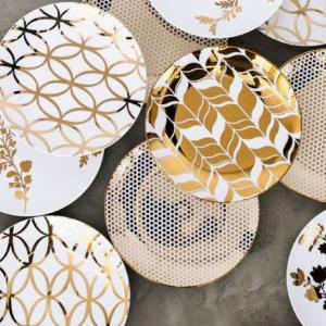 Gold Accent Plate Rental