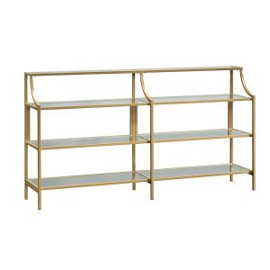 Gold Frame Console Table