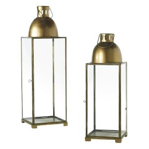 Tall Gold Lanterns
