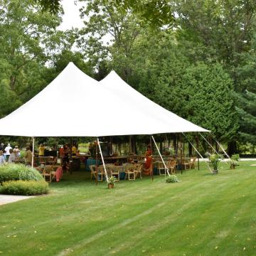 Sailcloth Tent rental pic