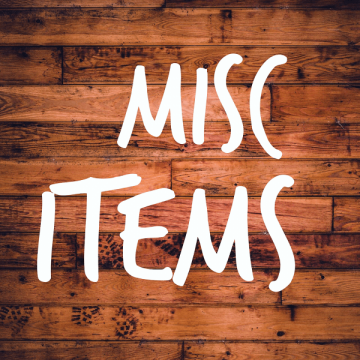 Miscellaneous rental Items