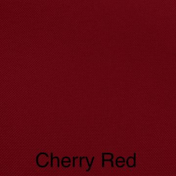Solid Linen Color Cherry Red