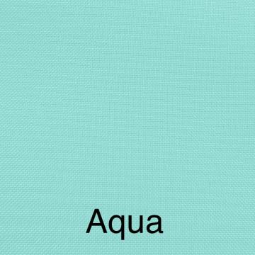 Solid Linen Color Aqua Blue