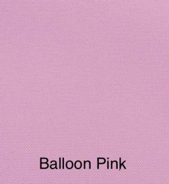 Solid Linen Color Balloon Pink