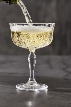 Coupe champagne glass