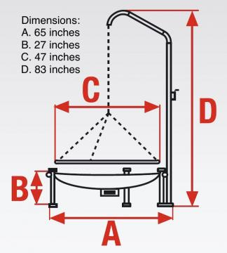 Swing Grill Dimensions