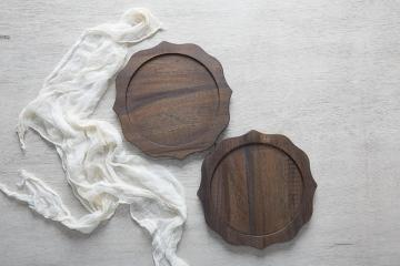 Dark Driftwood Chargers