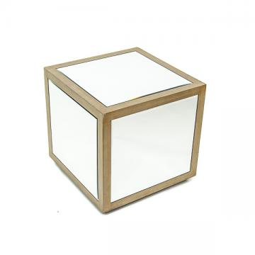 Mirrored Side Table Rental