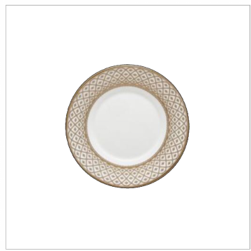 Marcella Gold Bread and Butter Saucer
