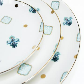 Positano Pattern China Set