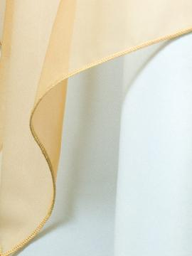Gold Sheer Drape Rental