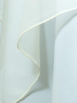 Ivory Sheer Drape Rental