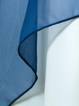 Navy Sheer Drape Rental