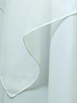 White Sheer Drape Rental